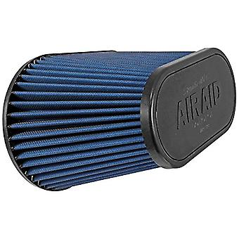 Airaid 723-128 Universal Clamp-On Air Filter: ovale affusolata; 4,5 pollici (114 mm) flangia ID; 7,25 in (184 mm) altezza; in 11,5
