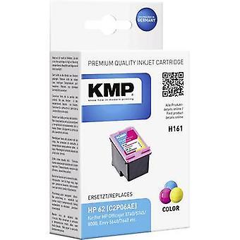 KMP الحبر استبدال HP 62 السماوية المتوافقة، أرجواني، الأصفر H161 1741،4830