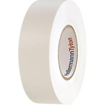 HellermannTyton HelaTape Flex 1000+ 710-10607 Electrical tape HelaTape Flex 1000+ White (L x W) 20 m x 19 mm 1 Rolls