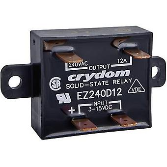 Crydom SSR EZ240D18S Current load (max.): 18 A Switching voltage (max.): 280 V AC Zero crossing 1 pc(s)
