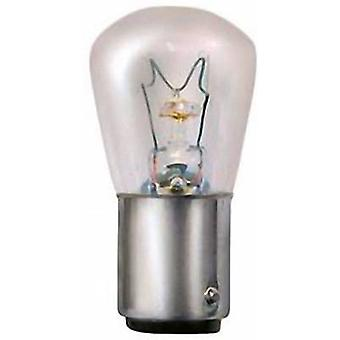 Werma Signaltechnik BA15D 15 W 24 V Alarm sounder light bulb Suitable for (signal processing) Indicator light 826
