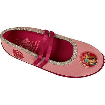 Девушки HQ4704 лапой патруль Тапочки розовый или серый размер 8 Дети младенца 12,5