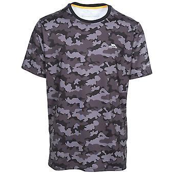 Hausfriedensbruch Mens Ralton Kurzarm Active T-Shirt