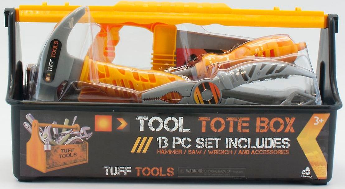 Tuff værktøjer Tote Carry værktøjskasse med redskaber 13 Pce sæt