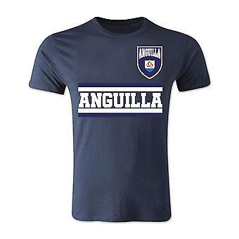 أنغيلا الأساسية لكرة القدم البلد تي شيرت (البحرية)