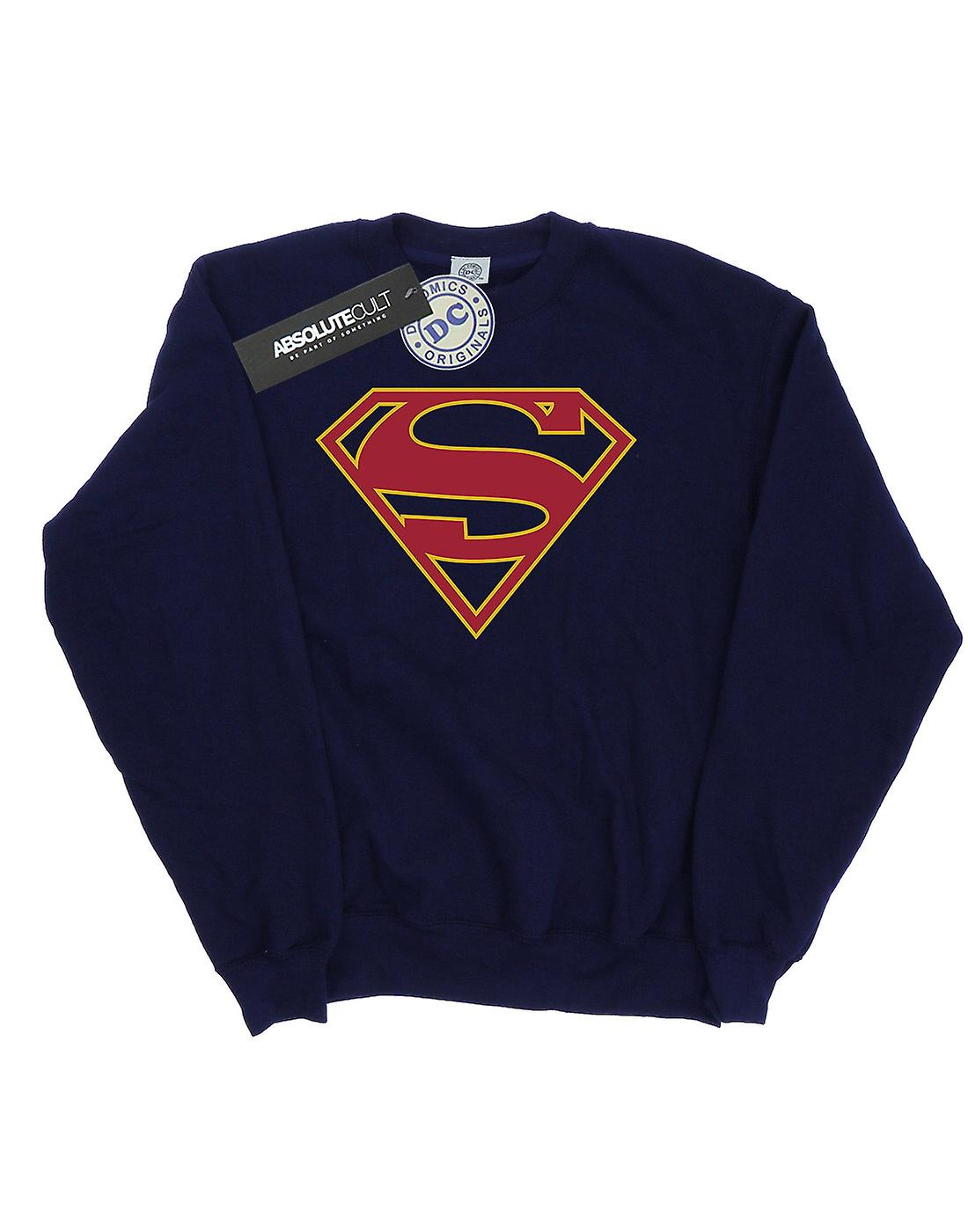 DC Comics Women's Supergirl Logo Sweatshirt