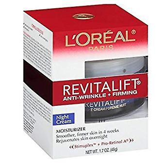 L ' Oréal Paris Revitalift - Nacht Creme, Anti-Falten + Straffung, 48 g
