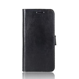 Huawei P20 Monedero Caso Crazy Caballo Negro