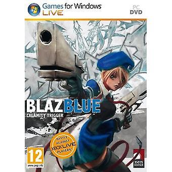 BlazBlue Calamity Trigger PC DVD Game