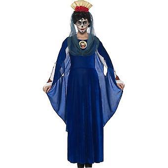 День мертвых священных Мэри костюма, малые