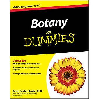 Botany For Dummies by Rene Fester Kratz - 9781118006726 Book