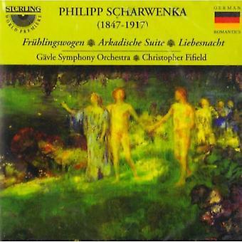 P.L. Scharwenka - Philipp Scharwenka: Fr Hlingswogen; Arkadische Suite; Liebesnacht [CD] USA import