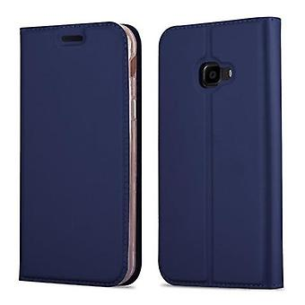 Cadorabo Case voor Samsung Galaxy XCover 4 / XCover 4S case cover - Telefoonhoes met magnetische sluiting, standfunctie en kaartcompartiment – Hoes cover beschermhoes boek opvouwbare stijl
