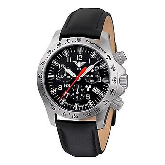 KHS zegarki męskie zegarek plutonu chronograf LDR KHS. PCLDR. L