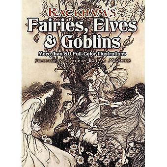De Rackham fadas, Elfos e duendes: mais de 80 ilustrações coloridas