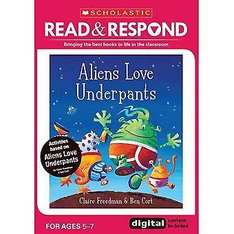 Aliens Love Underpants (Read & Respond)