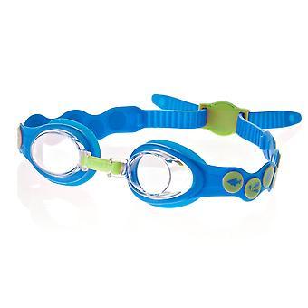 Speedo Sea Squad Spot Kids Swim Goggle - blu/verde - 2-6 anni