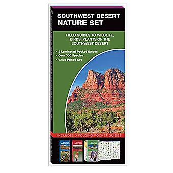 Southwest woestijn karakter Set: Veld gidsen voor wilde dieren, vogels, bomen & wilde bloemen van het zuidwesten woestijn (natuur Set)