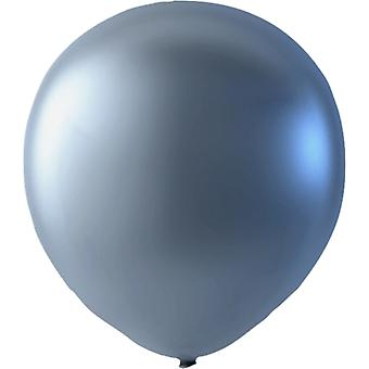 Sassier Party Party Latex Balloons Argent 30 cm (12 pouces) 25-pack