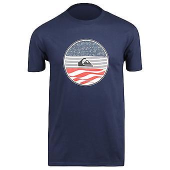 Quiksilver Herren Block Party-t-shirt-dunkelblau