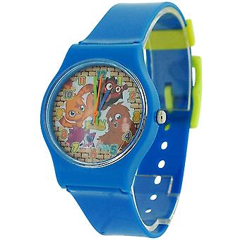 Moshi Monsters blau Boys Analog Kunststoffband Watch MM017