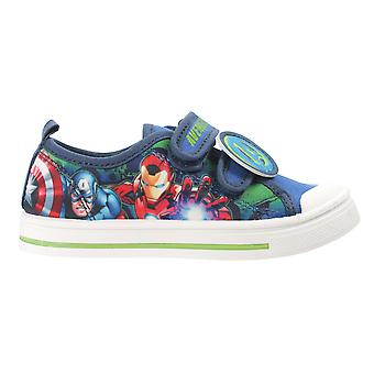 Marvel Avengers Boys Protector Low Top Casual Trainers UK Sizes Child 8-2