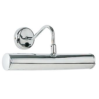 Endon Lighting Turner 2 Light 355mm Switched Picture Light In Chrome Plate