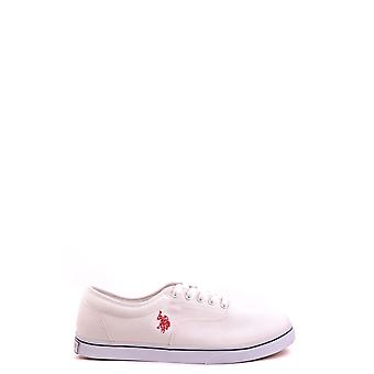 U.s. Polo Assn. Ezbc195004 Men's White Fabric Sneakers