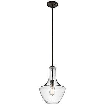 Elstead-1 pingente pequeno luz-bronze Olde-KL/EVERLY/P/S OZ