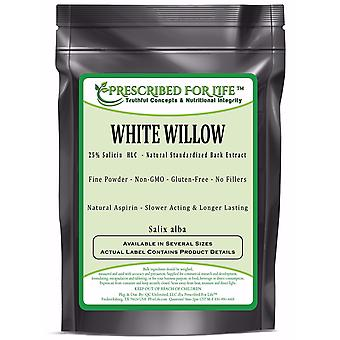 White Willow-25% Salicin (HLC)-Natural Bark Extract Powder (Salix alba)