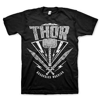 Thor Ragnarok guerrier asgardien noir T-Shirt homme
