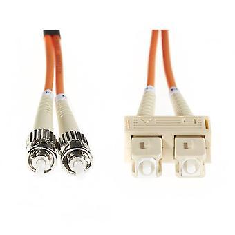 15M Sc ST Om1 πολλαπλών λειτουργιών καλώδιο οπτικών ινών πορτοκαλί