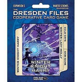 Winter Schemes Expansion Pack 5 The Dresden Files Co-op Card Game
