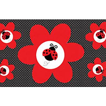 Creative Converting Ladybug Fancy Giant Party Banner