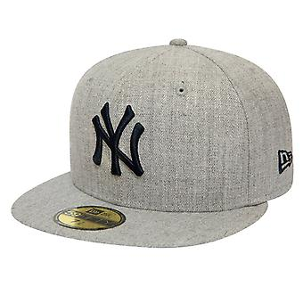 Nuovo Era 59Fifty Fitted Cap - HEATHER New York Yankees