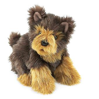 Hand Puppet - Folkmanis - Yorkie Pup New Animals Soft Doll Plush 3039