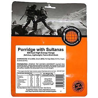 Expedition Foods Black Porridge Avec Sultanas