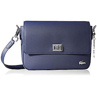 Lacoste Daily Classic-blauwe dames schoudertassen (Peacoat) 6x18x25 cm (b x H L)