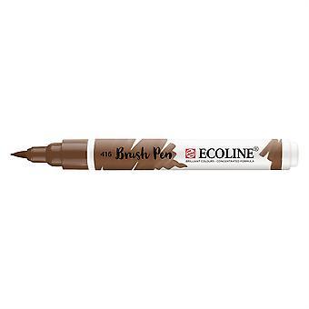 Talens Ecoline Liquid Watercolour Brush Pen - 416 Sepia