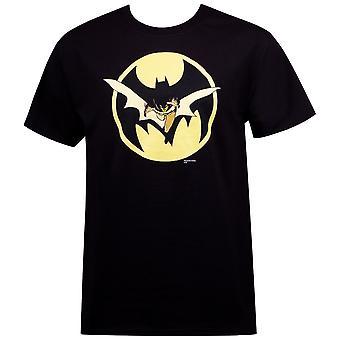 באטמן שנה אחת מאת דוד מזונוצ'לי גברים ' חולצת טריקו