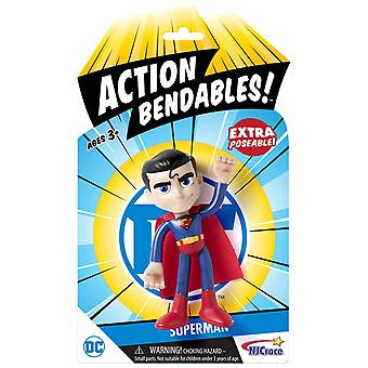 Superman Action Bendables Pose Jouet