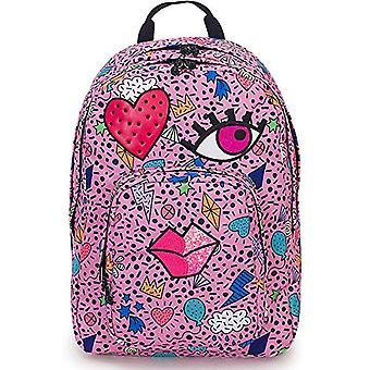 Rugzak Dial face Invicta-roze-38 lt-dubbel compartiment-laptop Pocket 15 ' '-school & vrije tijd