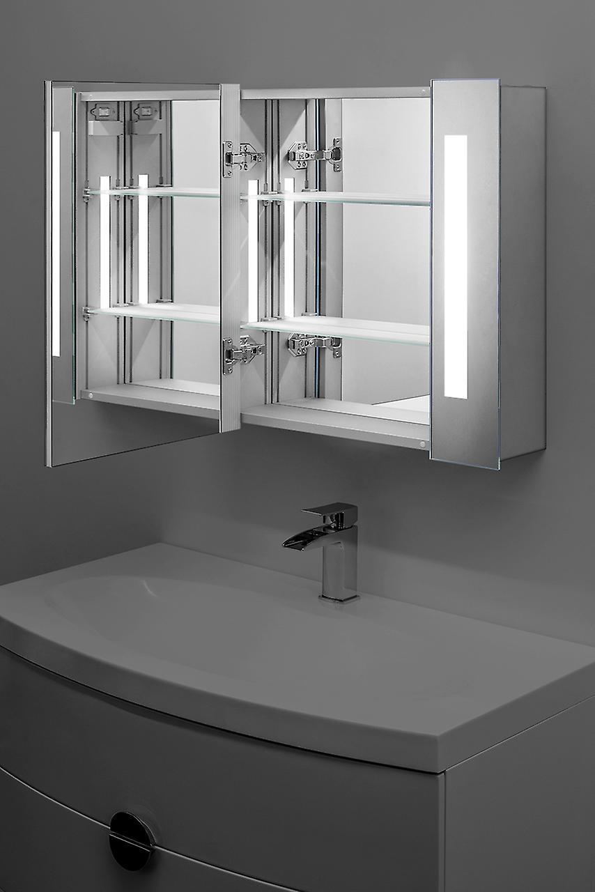 Audio Bathroom Cabinet With Bluetooth, Shaver & Sensor K17Aud