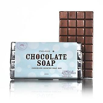 Star + Rose King Size Choc Bar Chocolate Scented Soap 200gm