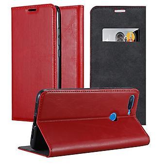 Cadorabo Hülle für Xiaomi Mi 8 Lite Case Cover - Handyhülle mit Magnetverschluss, Standfunktion und Kartenfach – Case Cover Schutzhülle Etui Tasche Book Klapp Style