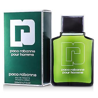 Paco Rabanne Pour Homme Eau De Toilette Splash & Spray - 200ml/6.7oz