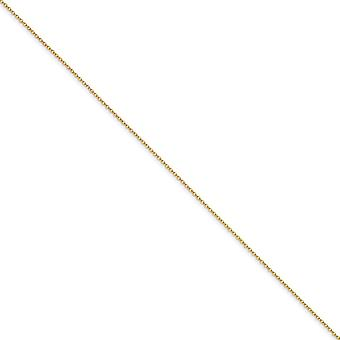 Yellow Rhodium Brass Polished Spring Ring 1.70mm Plated Chain Necklace - Length: 16 to 24