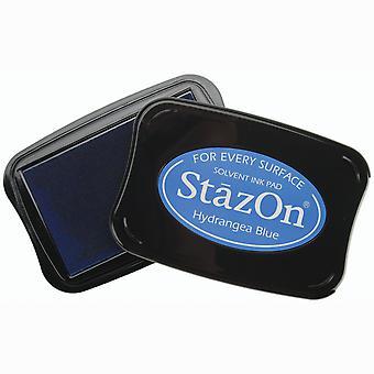 Tsukineko StazOn Ink Pad - Hydrangea Blue