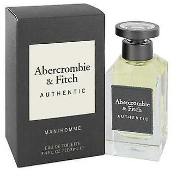 Abercrombie & Fitch Authentic By Abercrombie & Fitch Eau De Toilette Spray 3.4 Oz (men) V728-545988