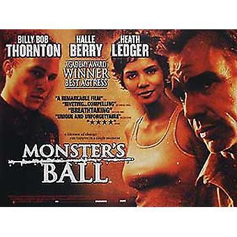 Monsters Ball (yksipuolinen) alkuperäinen elokuva juliste